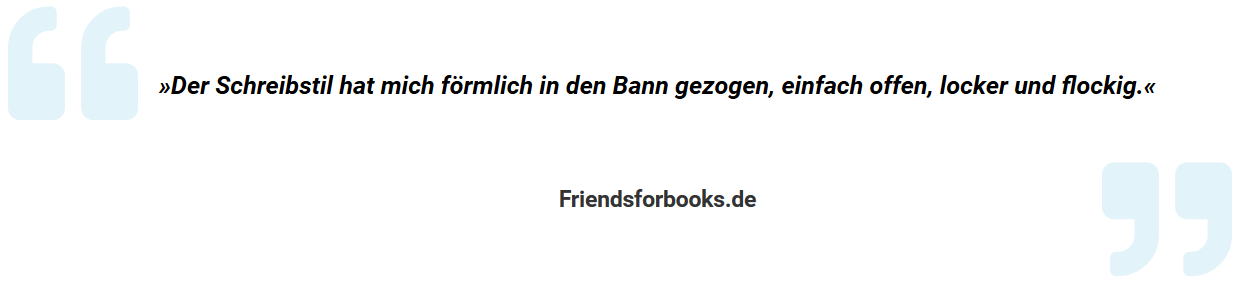 Testimonial Friendsforbooks.de